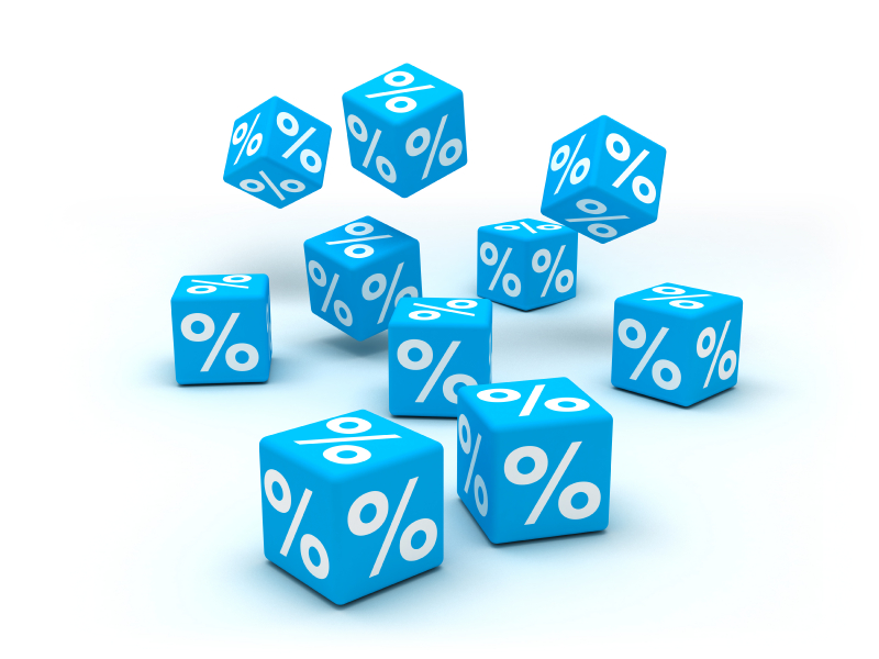 blue interest rates