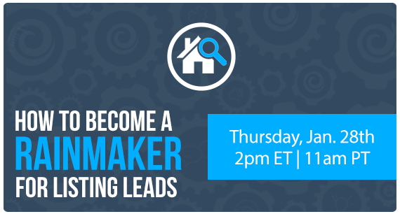How To Become a Rainmaker for Listing Leads [WEBINAR] | Keeping Current Matters