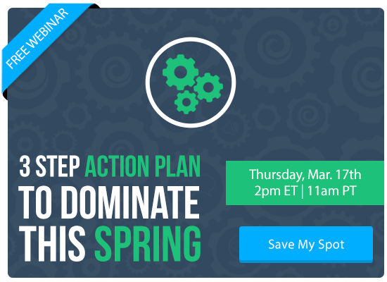 3 Step Action Plan to Dominate This Spring [FREE WEBINAR] | Keeping Current Matters