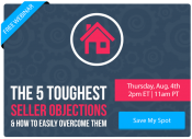 The 5 Toughest Seller Objections [FREE WEBINAR]   Keeping Current Matters