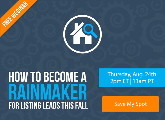 Learn How to Become a Rainmaker for Listing Leads this Fall [FREE WEBINAR]